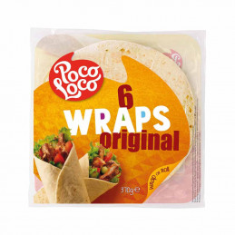 6 Wraps original 370g