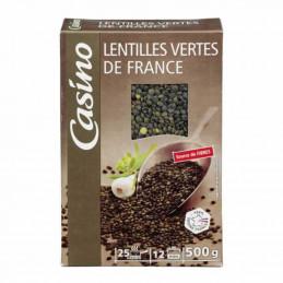 Lentilles vertes de France...