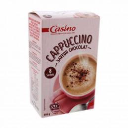Cappuccino saveur chocolat...