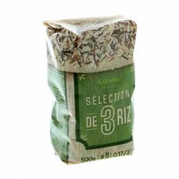 Riz 3 grains sélection 500g