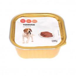 Terrine pour chien au bœuf...