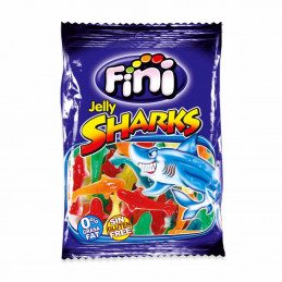 Bonbons jelly sharks 100g