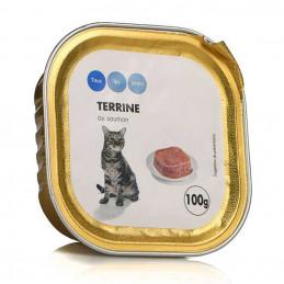 Terrine de saumon pour chat...