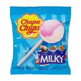 Classique milky 16 sucettes...