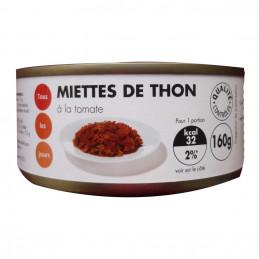 Miettes de thon à la tomate...