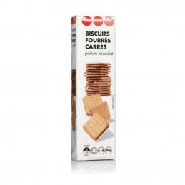 Biscuits  fourrés carrés...