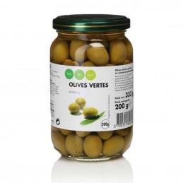 Olives vertes entières 200g