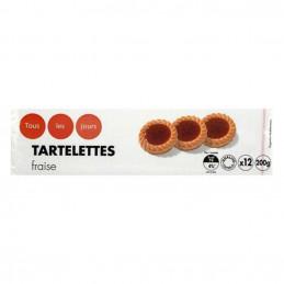 Tartelettes fraise 200g