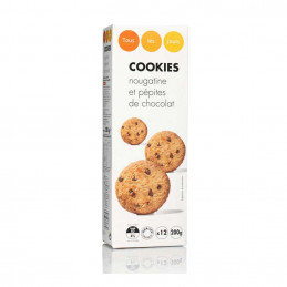 Cookies nougatine et...