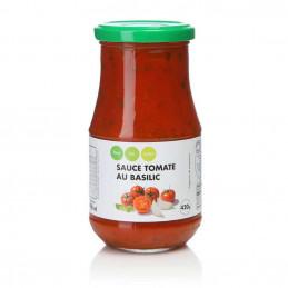 Sauce tomate au basilic 420g