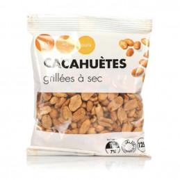 Cacahuètes grillées à sec 125g