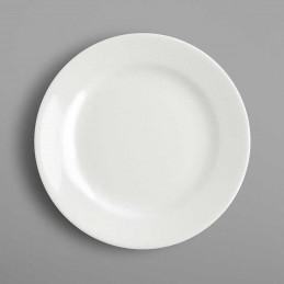 Assiette ronde plate...