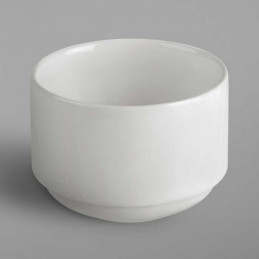 Sucrier blanc en porcelaine...
