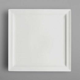 Assiette plate carrée...