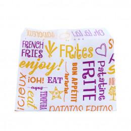 Sachet imprimé pour Frites...