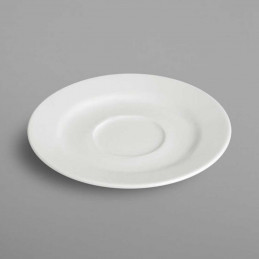 Soucoupe porcelaine blanche...