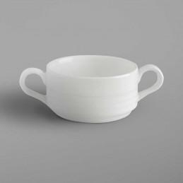 Bol à Soupe et Crème blanc...