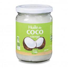 Huile de coco racines bio...