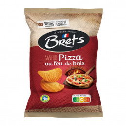 Chips saveur pizza 125g