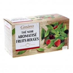 Thé noir fruits rouges 25...