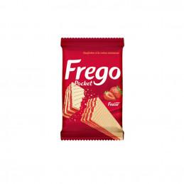 Gaufrette Frego pocket fraise