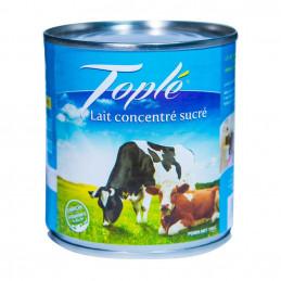 Lait concentré sucré Toplé...