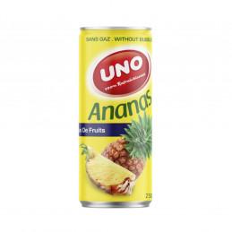 Canette jus parfum ananas 25cl