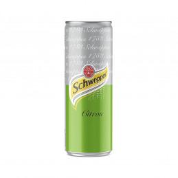 Canette schweppes citron 25cl