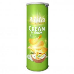 Chips en tube cream & onion...