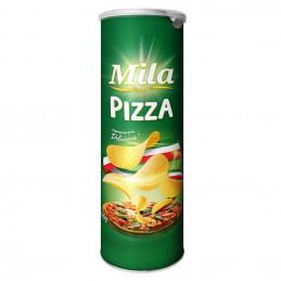 Chips en tube pizza 110g