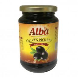 Olives noires entières en...