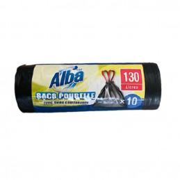 10 Sacs poubelle 130L