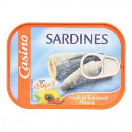 Sardines à l'huile de...