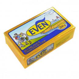 Beurre plaquette doux 200g