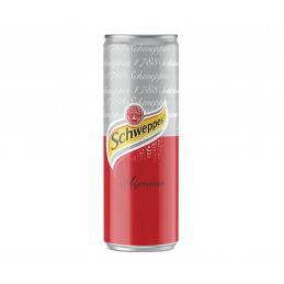Canette schweppes agrumes...