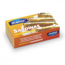 Sardines marinées 170g