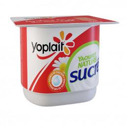 Yaourt Yoplait nature sucre...