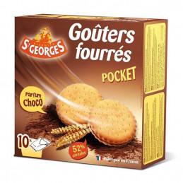 Biscuits fourrés ronds...