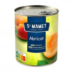 Conserve d'abricot pelés...