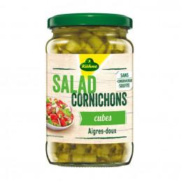 Cornichons salad cubes...