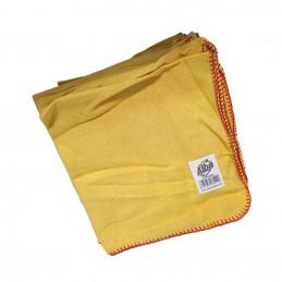 Chamoisine jaune 40x40cm