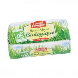 Beurre doux moulé bio 200g