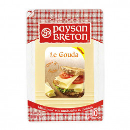 Fromage Gouda 10 tranches 160g