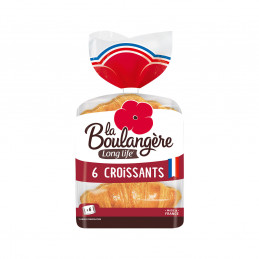 6 Croissants emballage...