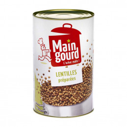 Lentilles préparées 4,250kg