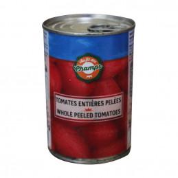 Conserve de tomates pelées...
