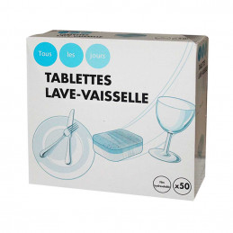 Tablette lave vaisselle 10X50