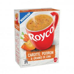 Soupe instantanée  carotte...