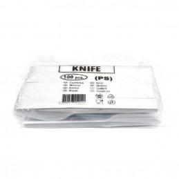 Couteau plastique jetable...