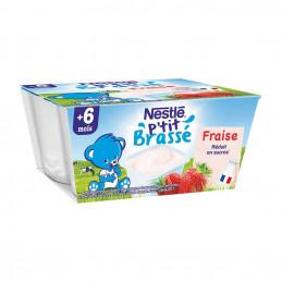 P'tit brassé fraise x4